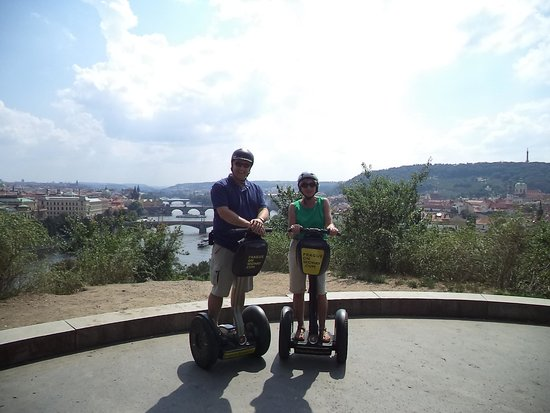 Prague On Segway, on E-Scooter, on Quad : Happy segway team