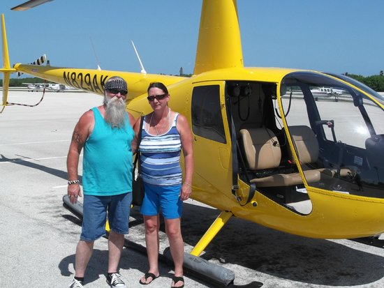 Old City Helicopters, LLC: My husband and I