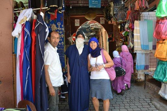 Suq von Marrakesch: Comercio