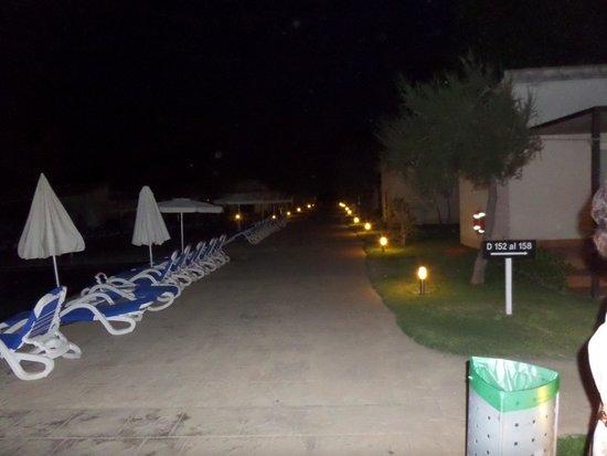 Valentin Playa de Muro: Ночной вид
