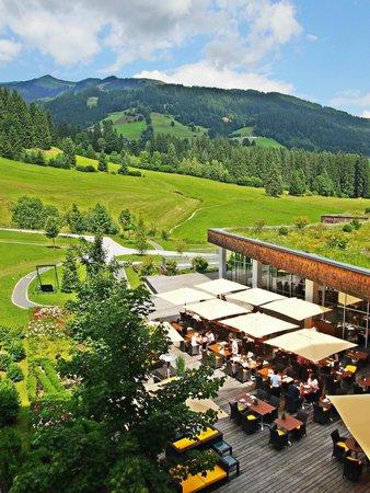 Kempinski Hotel Das Tirol: Aussicht vom Balkon