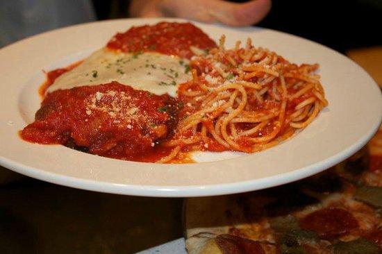 INZO Italian Kitchen: Eggplant Parmigiana
