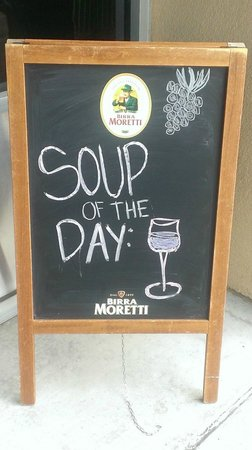 INZO Italian Kitchen: Soup of the day, served everyday ;)