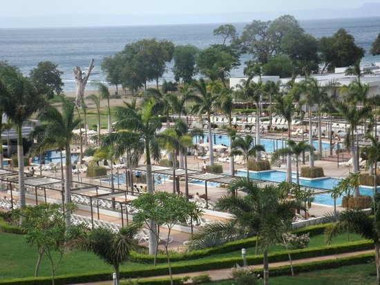 Hotel Riu Palace Costa Rica: View from our room.
