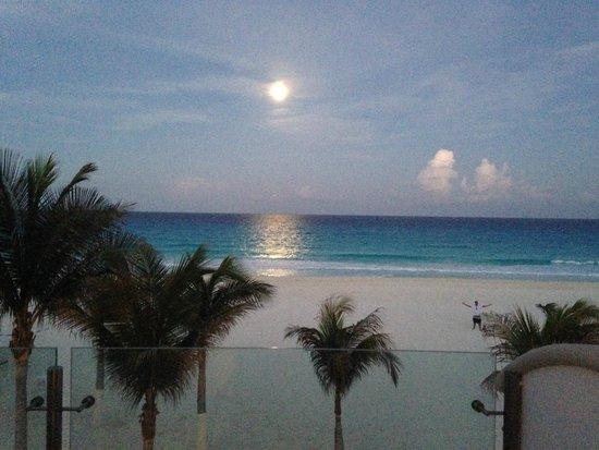 Hyatt Zilara Cancun: View from room 120 balcony