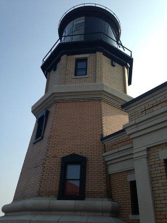 Split Rock Lighthouse State Park : light house up close
