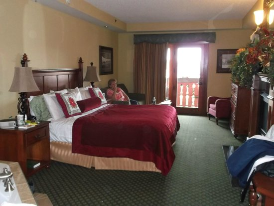 The Inn at Christmas Place: Our beautiful room