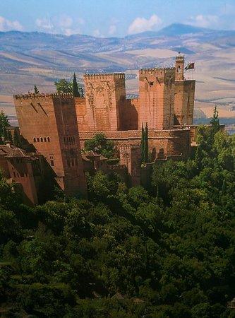 Hotel Macia Real de la Alhambra: Parte de la decoración del hotel