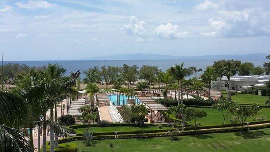 Hotel Riu Palace Costa Rica: Vista desde la cafetería