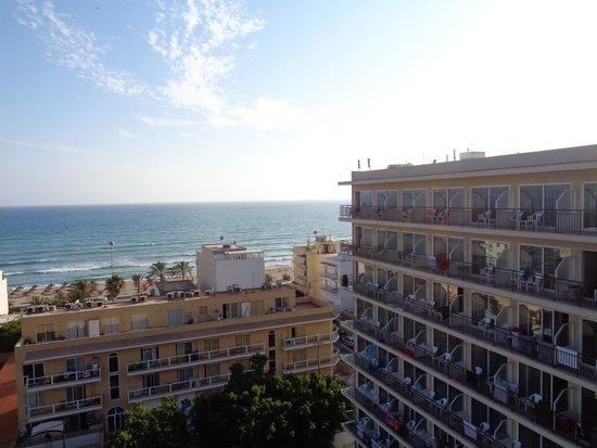 Hotel Java: panorama dalla camera 27 luglio 3 agosto