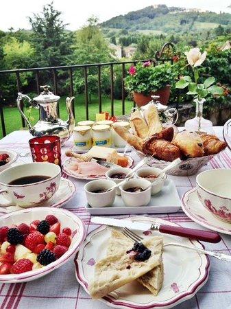 La Chanceliere: best breakfast ever