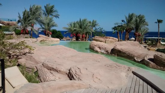 The Royal Savoy Sharm El Sheikh: View from pool area