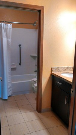 TownePlace Suites Phoenix North: Looking into the bathroom area