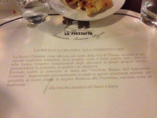 La Piazzetta : Отличная рекомендация!
