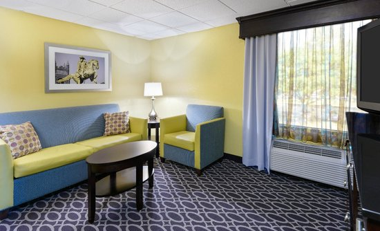 DoubleTree by Hilton Richmond-Midlothian: Relax in a perfectly put-together mini suite with separate sitting area