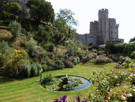 Evan Evans Tours: The gardens at Windsor Castle