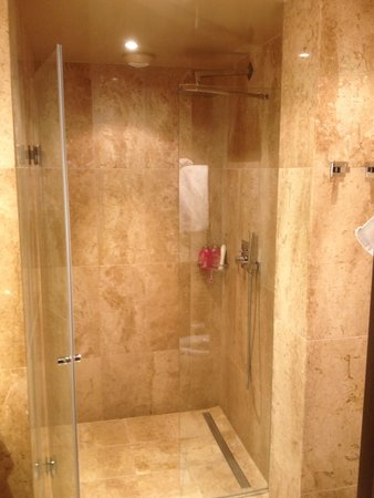 Hotel Beausejour Montmartre : Gorgeous walk-in shower