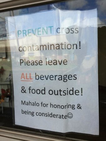 Sweet Marie's Hawaii : I love that Marie understands cross-contact issues.