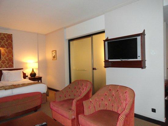 Hotel Dukes' Palace Bruges: habitacion