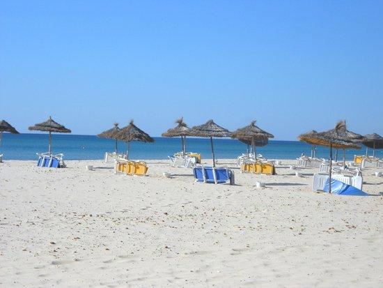 Club Eldorador Salammbo : La plage.