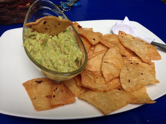Soda Tiquicia: best chips and Guac I've ever had!