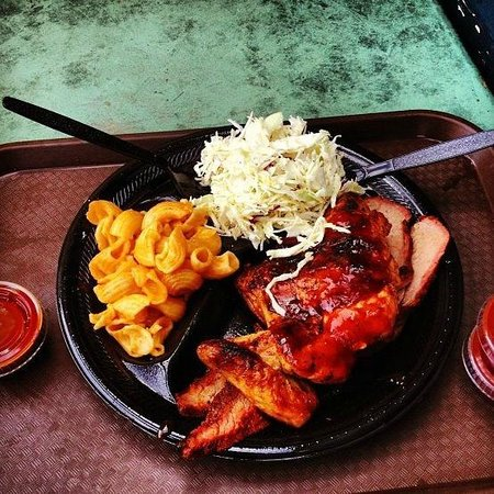 Outdoor Grill: The perfect dinner!