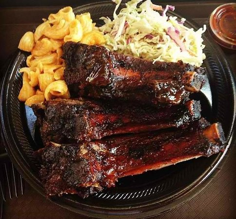 Outdoor Grill: Ribs and 2 sides