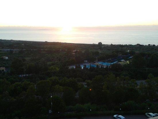 Hotel Club Costa Verde : vista dal 7 piano