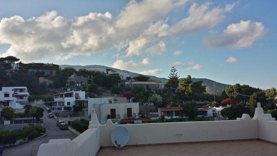 Borgo Eolie Hotel: dal terrazzo