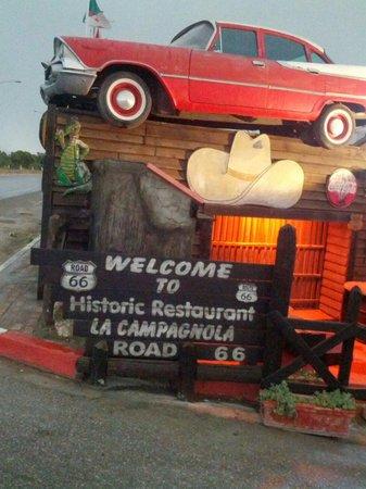 Hammam Sousse, Tunus: Stone grill restaurant La campagnola