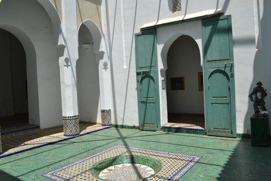 Musee de Marrakech - Fondation Omar Benjelloun: Entrada al museo