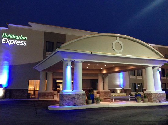 Holiday Inn Express New Albany: Hotel