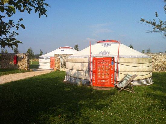 Nomade Lodge: une autre yourte