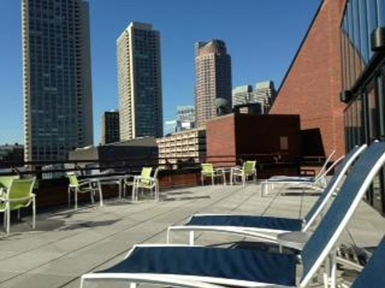 Boston Marriott Long Wharf: Patio