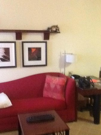 Residence Inn Melbourne: Living room...