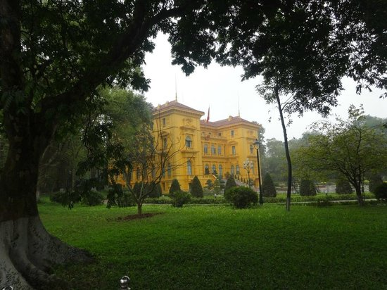Ho Chi Minh Presidential Palace Historical Site: STATE MANSION