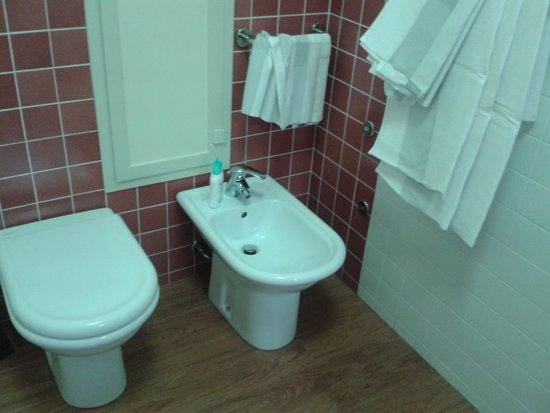Hotel Club Costa Verde : il bagno