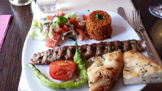 Meze Lounge: Lunchtime special......yum