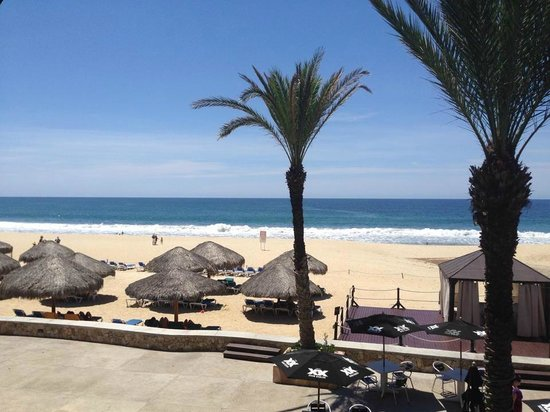 Royal Solaris Los Cabos: ocean front view from 2nd floor room