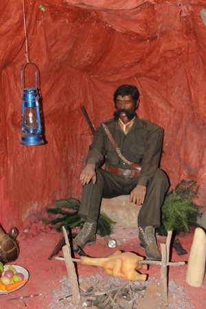 Wax World Museum: One of the wax figures