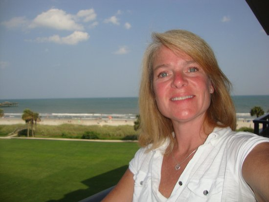 DoubleTree Resort by Hilton Myrtle Beach Oceanfront: View from our balcony