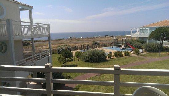 Apartamentos Pierre & Vacances L'Estran: Balcony View