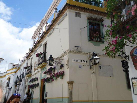 "Jewish Quarter (Juderia): Calle ""Judíos"""