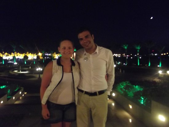 SENTIDO Mamlouk Palace Resort : our friend aki
