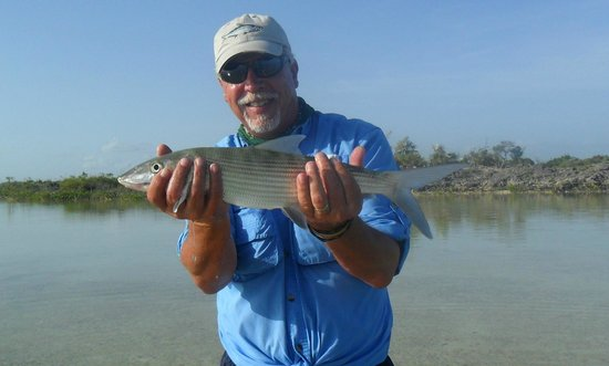 Kamalame Cay : Bone Fish caught on the flats at Kamalame  Cay July 26th 2014