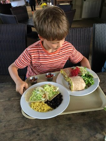 The Garden Cafe at Common Ground: Delicious meals