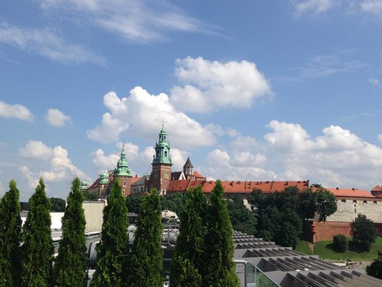 Sheraton Grand Krakow: View from the rooftop terrace