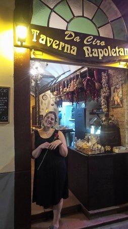 Da Ciro Taverna Napoletana: maria cristina