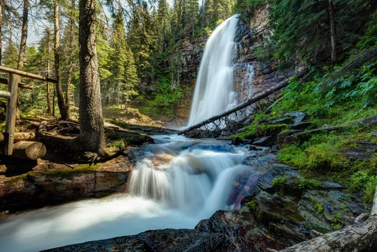 St Mary Falls Picture Of Virginia Falls Glacier National Park Tripadvisor