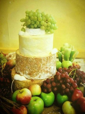 The Hunmanby Pantry: Wedding cheese cakes are available to order